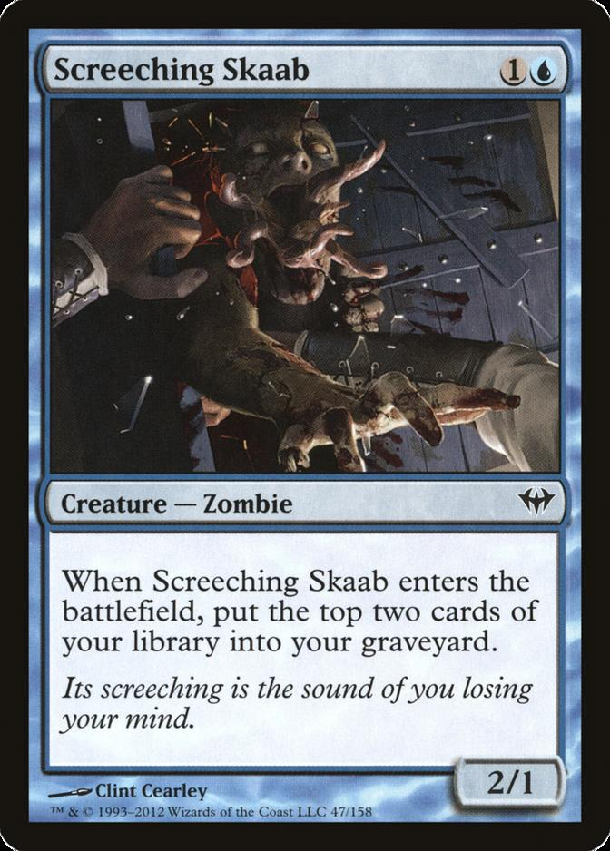 Screeching Skaab [DKA] (F)