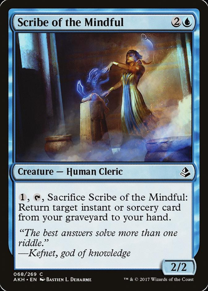 Scribe of the Mindful [AKH] (F)