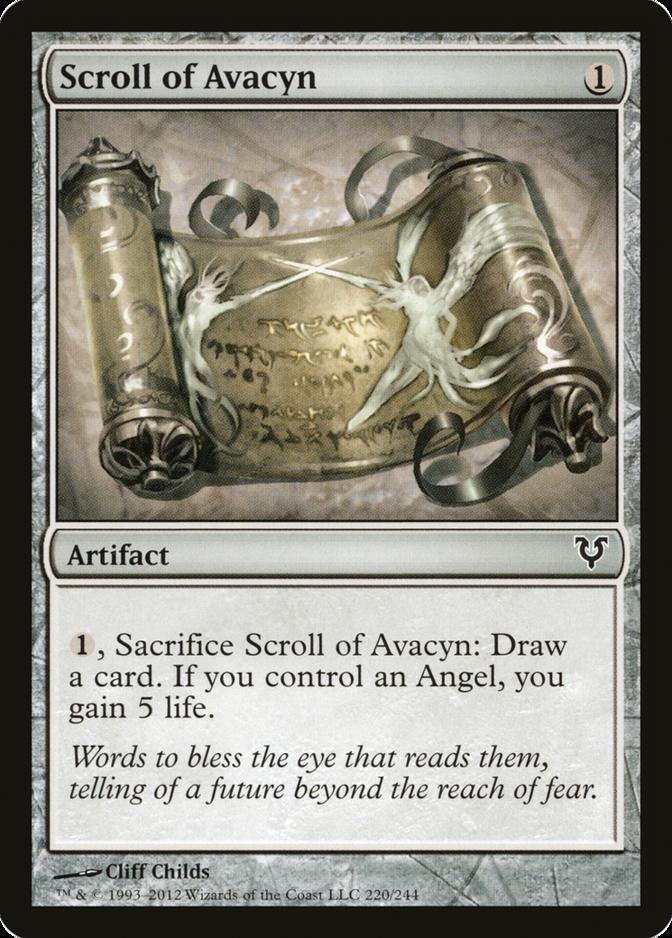 Scroll of Avacyn [AVR]