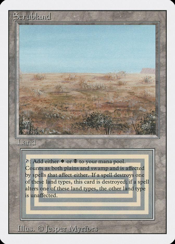 Scrubland [3ED]