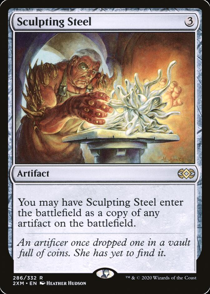 Sculpting Steel [2XM]