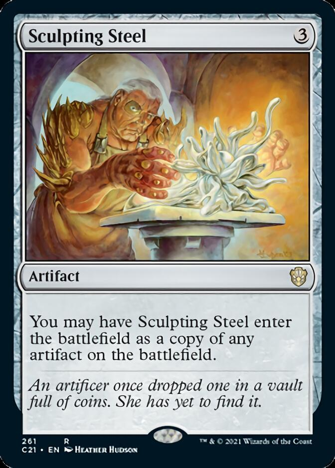 Sculpting Steel [C21]