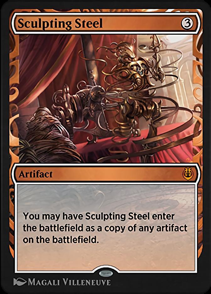 Sculpting Steel [KLR]