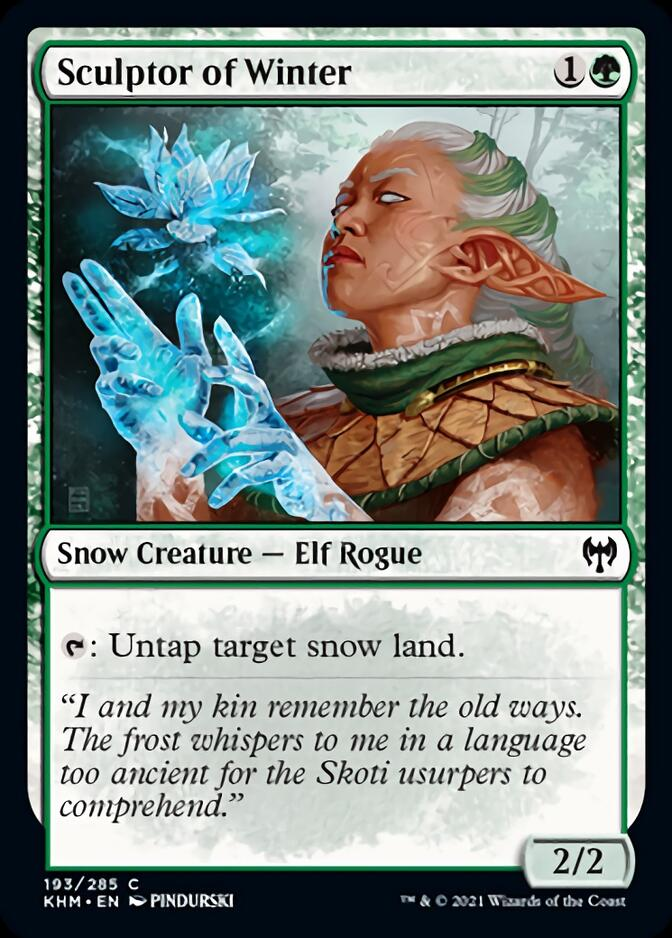 Sculptor of Winter [KHM]