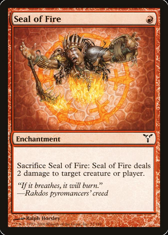 Seal of Fire [DIS] (F)
