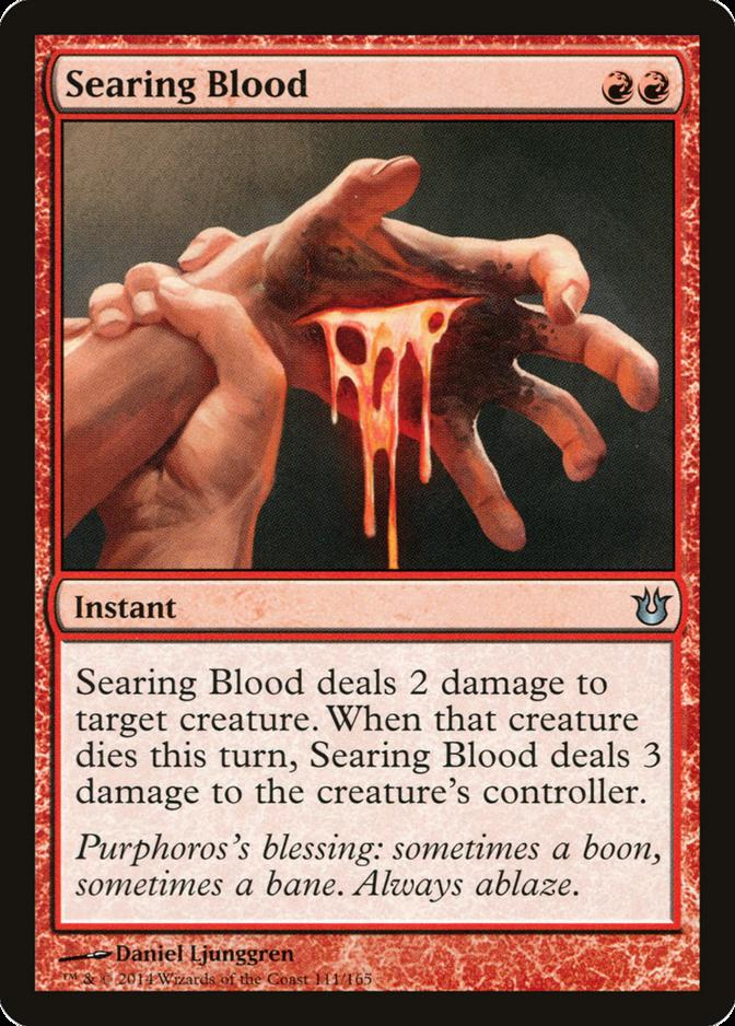 Searing Blood [BNG] (F)