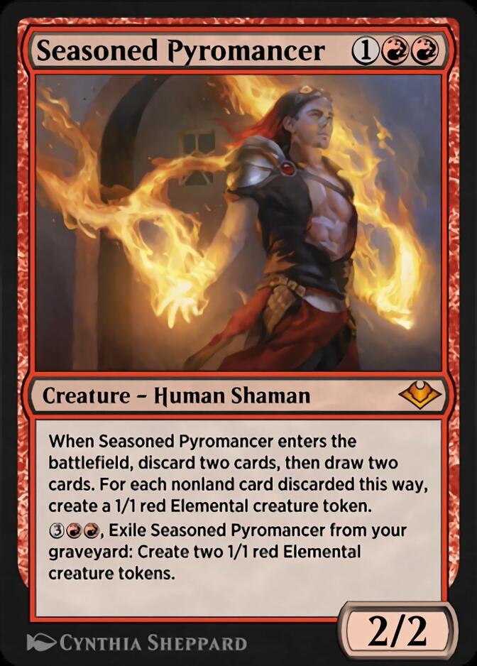 Seasoned Pyromancer [J21]