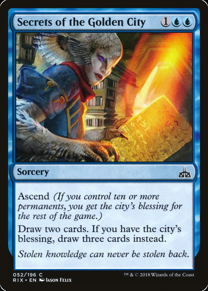 Secrets of the Golden City [RIX]