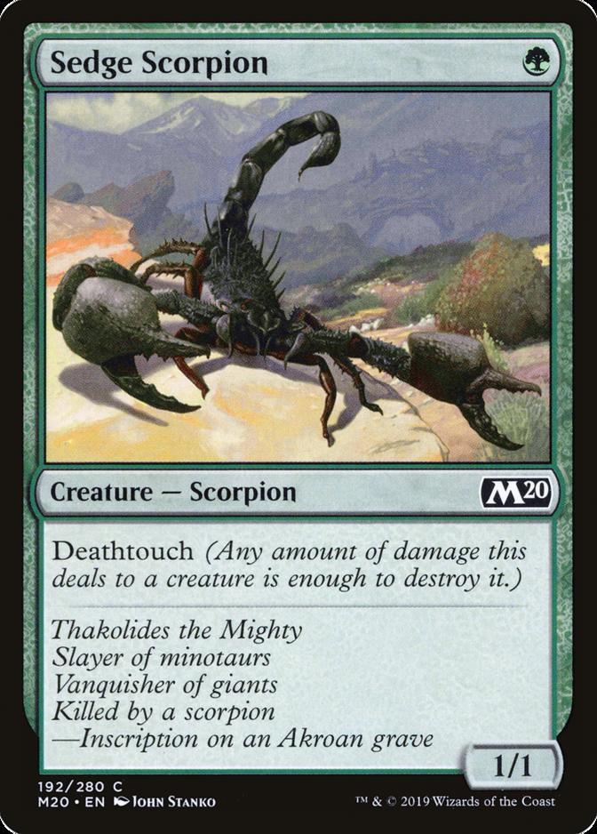 Sedge Scorpion [M20]
