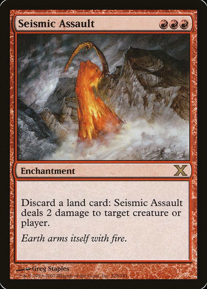 Seismic Assault [10E]