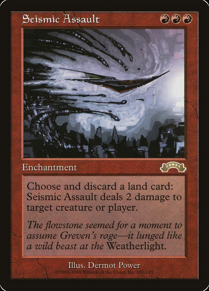 Seismic Assault [EX] (F)