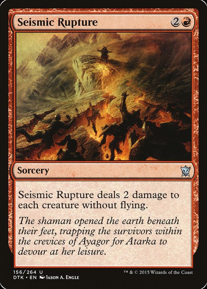 Seismic Rupture [DTK]