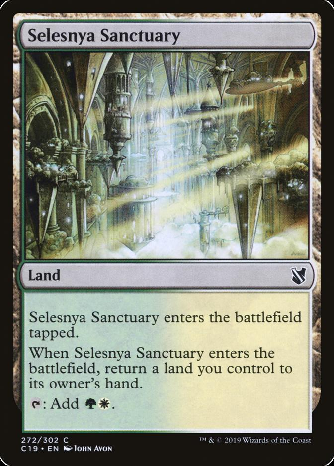 Selesnya Sanctuary [C19] (F)