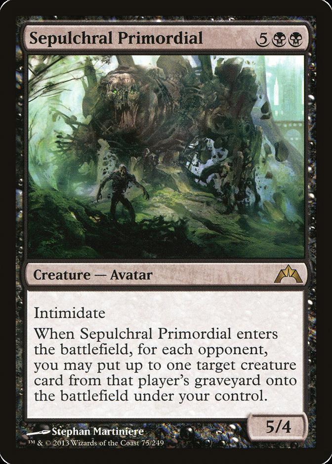 Sepulchral Primordial [GTC]