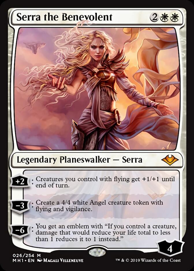 Serra the Benevolent [J21]