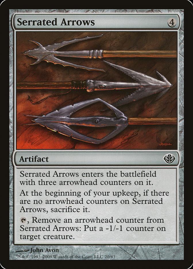 Serrated Arrows [DDD]