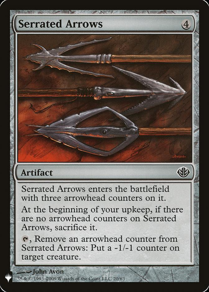 Serrated Arrows [MB1]