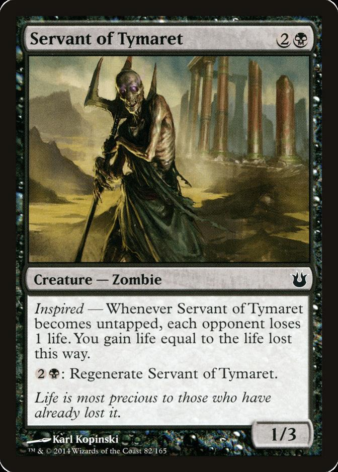 Servant of Tymaret [BNG]