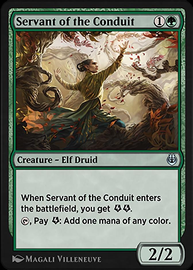 Servant of the Conduit [KLR]