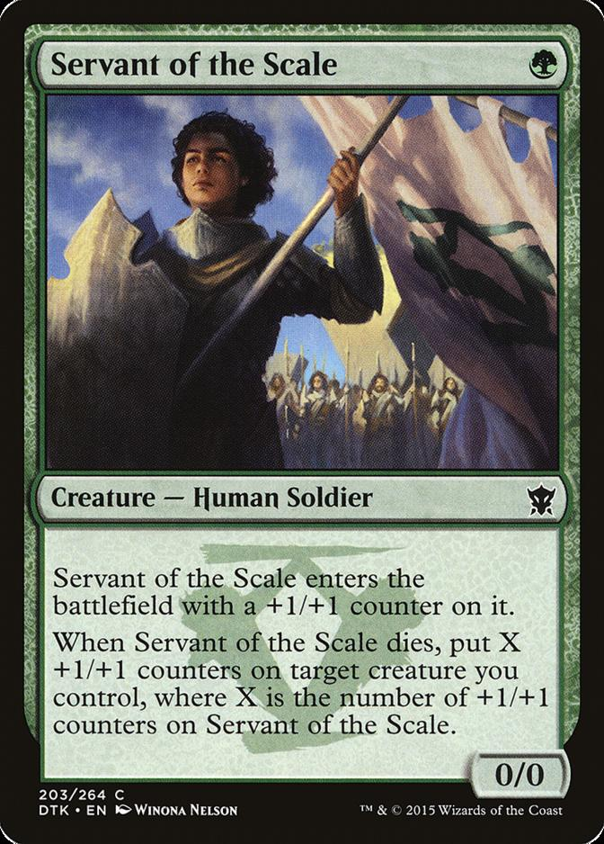 Servant of the Scale [DTK] (F)