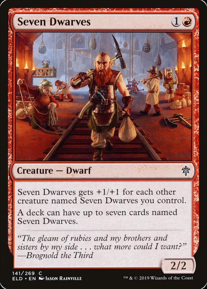Seven Dwarves [ELD]