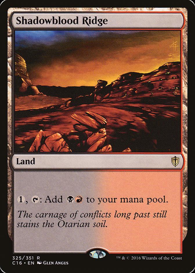 Shadowblood Ridge [C16]
