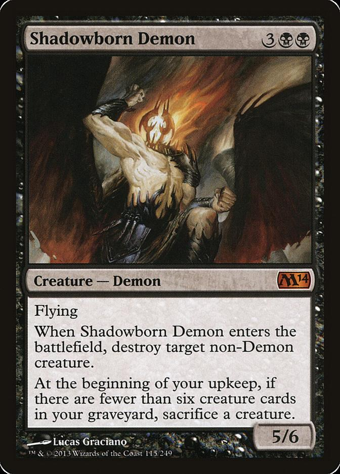 Shadowborn Demon [M14]