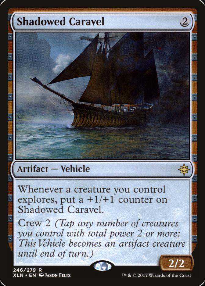 Shadowed Caravel [XLN]