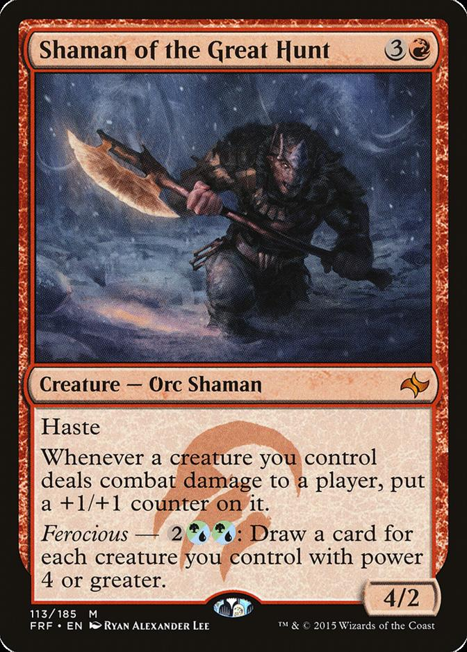 Shaman of the Great Hunt [FRF]