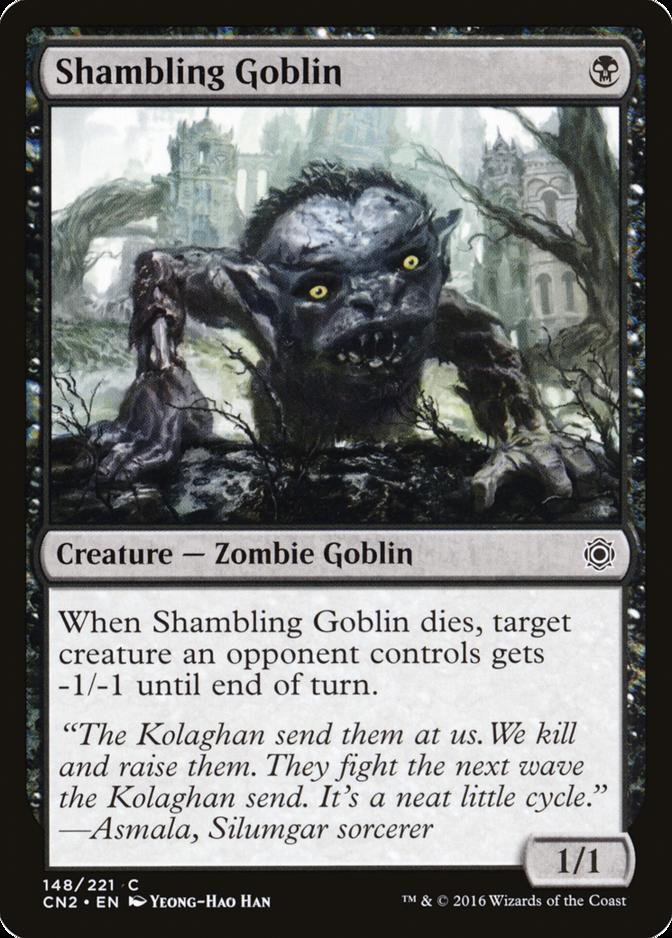 Shambling Goblin [CN2]