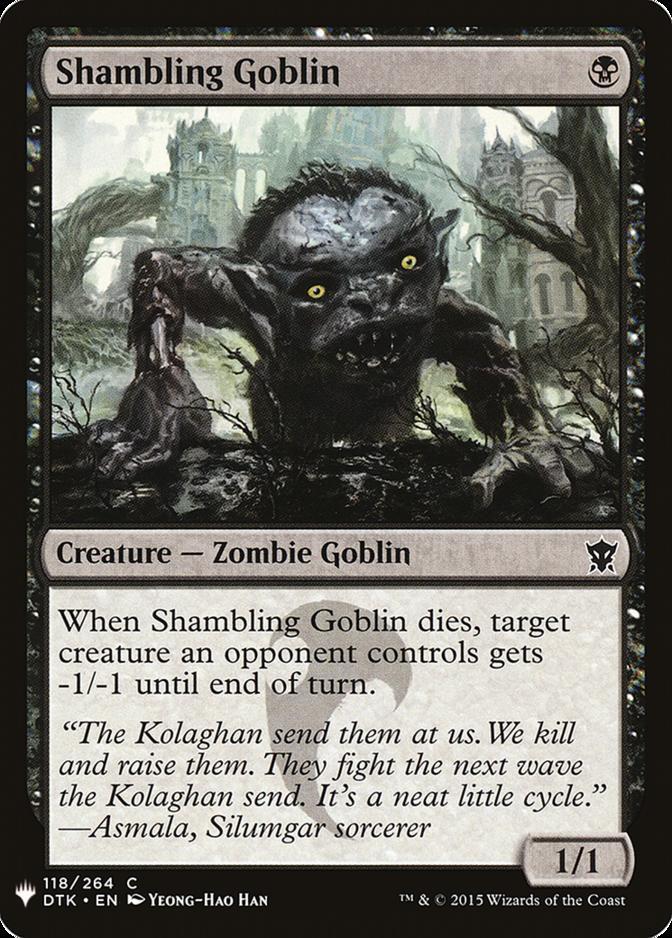 Shambling Goblin [MB1]