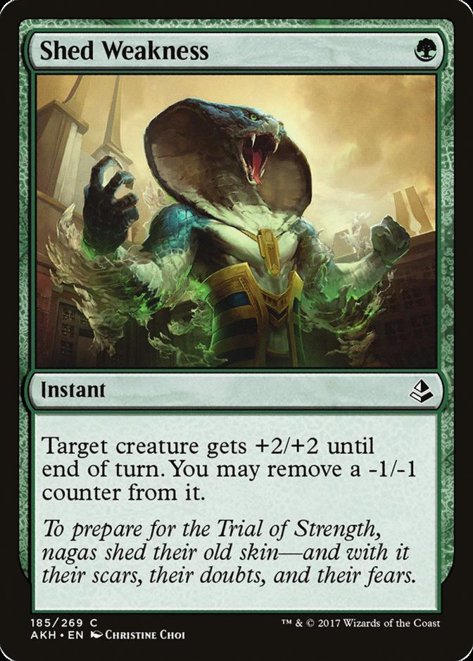 Shed Weakness [AKH]