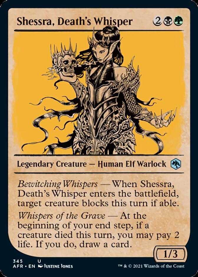 Shessra, Death's Whisper <showcase> [AFR]