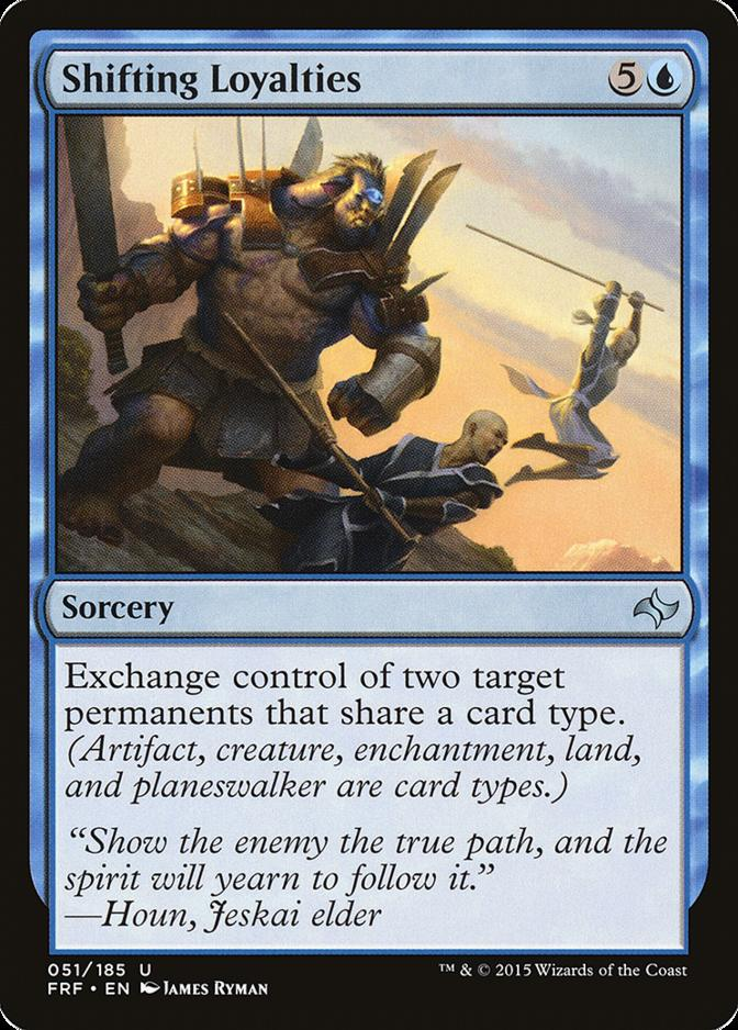 Shifting Loyalties [FRF]