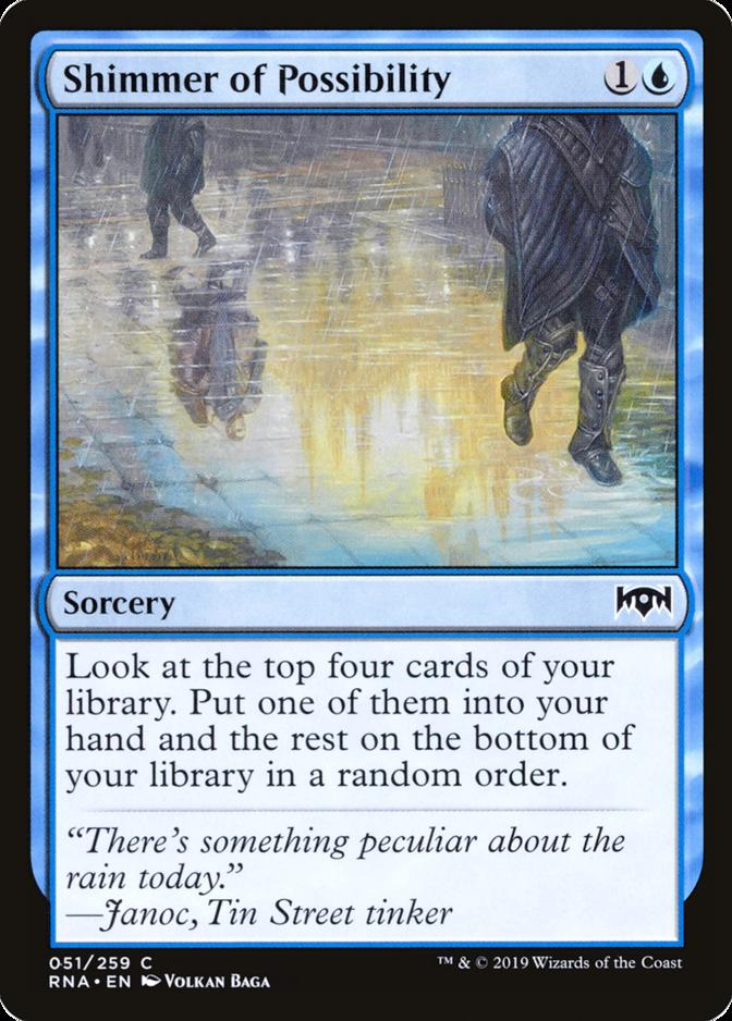 Shimmer of Possibility [RNA]