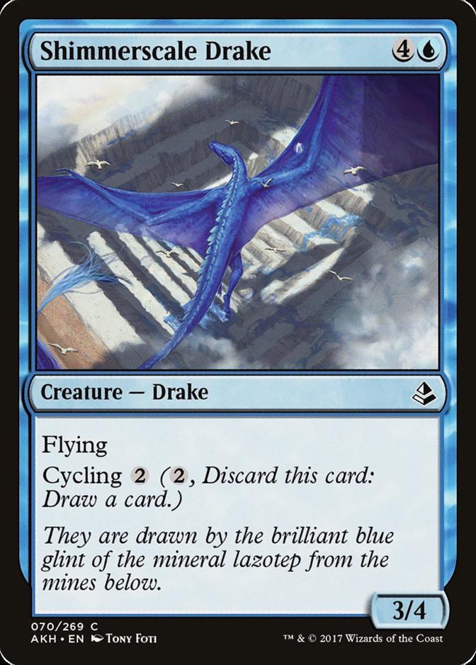 Shimmerscale Drake [AKH] (F)