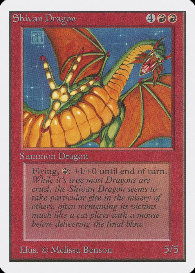 Shivan Dragon [2ED]