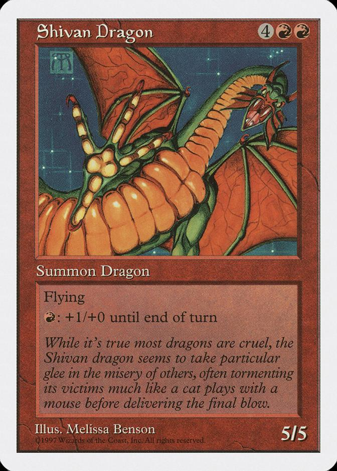 Shivan Dragon [5ED]