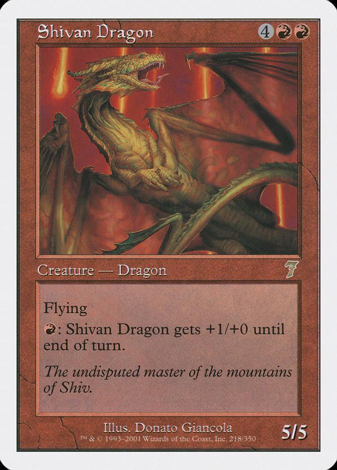 Shivan Dragon [7E]