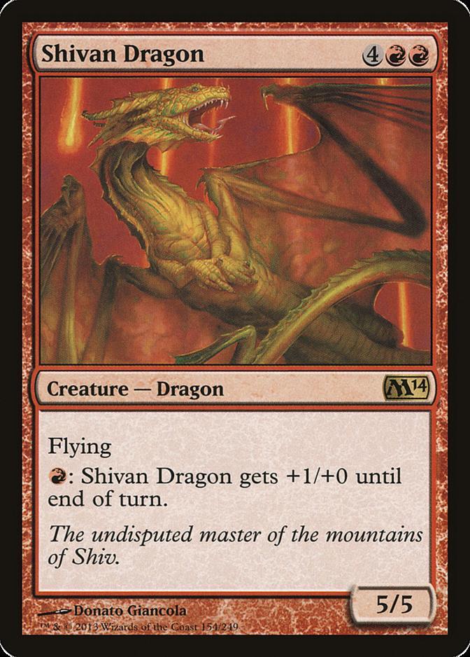 Shivan Dragon [M14]