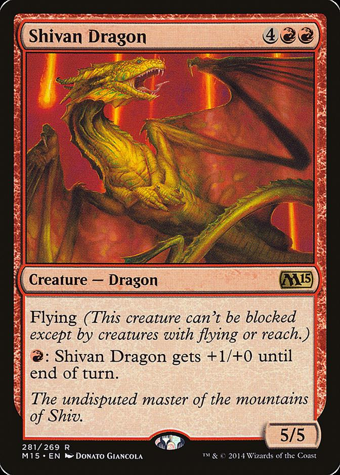 Shivan Dragon [M15]