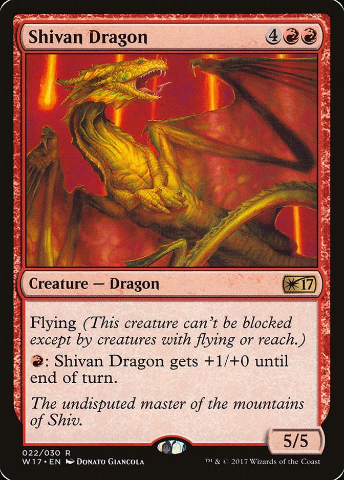 Shivan Dragon [W17]