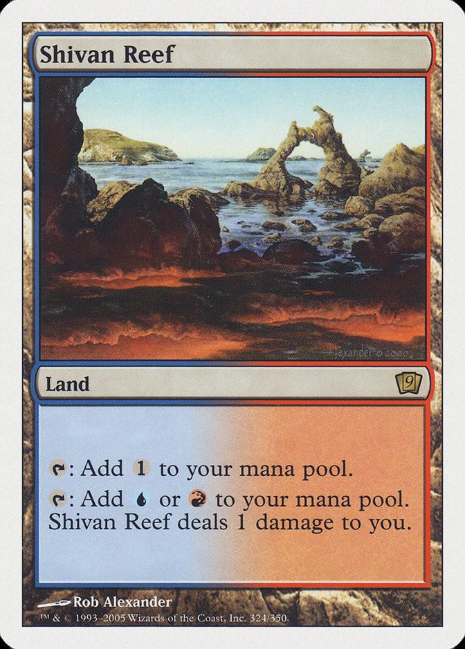 Shivan Reef [9ED] (F)