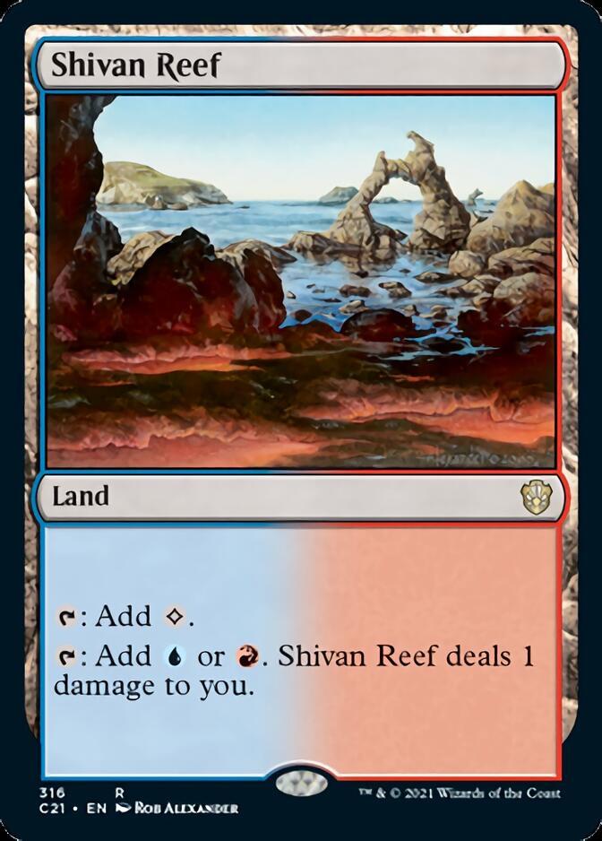 Shivan Reef [C21]