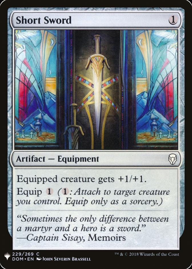 Short Sword [MB1]