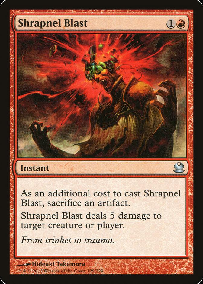 Shrapnel Blast [MMA]