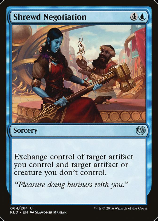 Shrewd Negotiation [KLD]