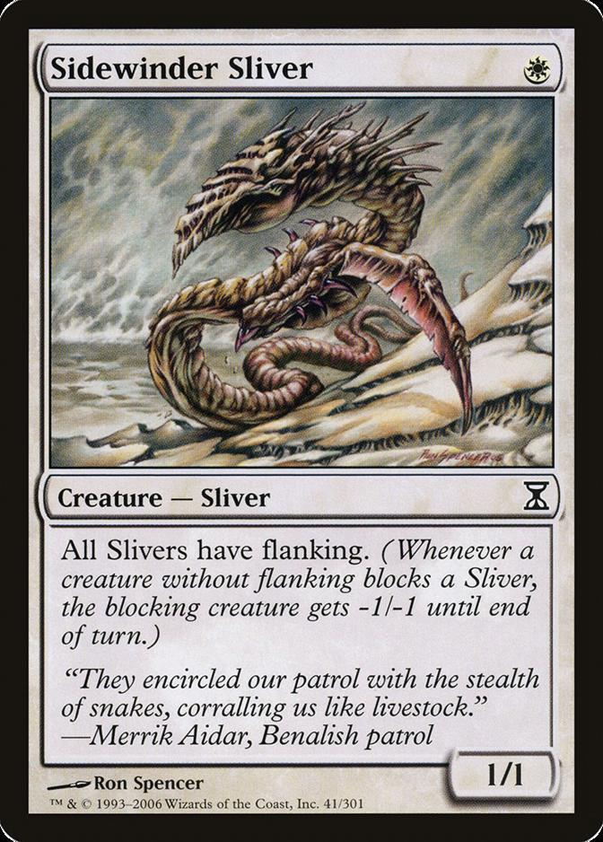 Sidewinder Sliver [TSP]