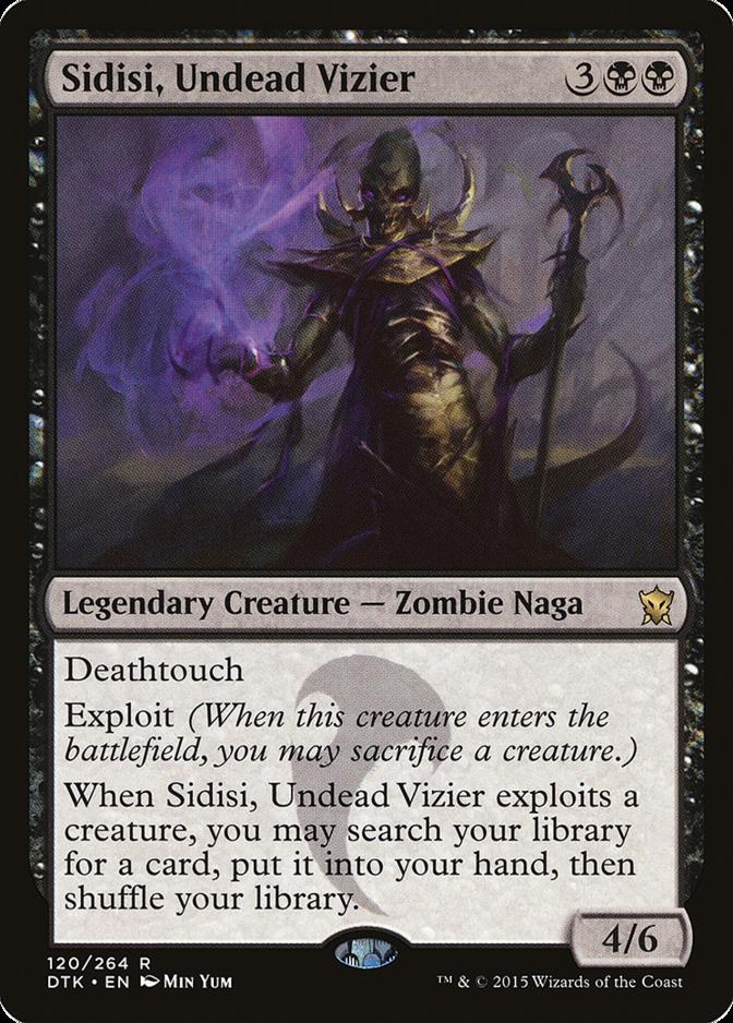 Sidisi, Undead Vizier [DTK]