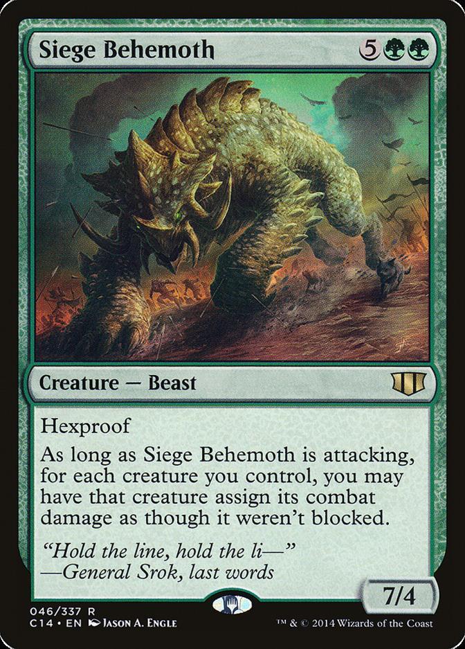 Siege Behemoth [C14]